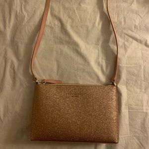 NWT Kate Spade Blush pink sparkly bag